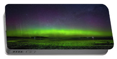 Portable Battery Charger featuring the photograph Aurora Australia by Odille Esmonde-Morgan