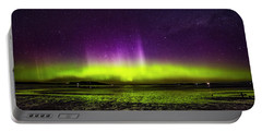 Portable Battery Charger featuring the photograph Aurora Australis by Odille Esmonde-Morgan