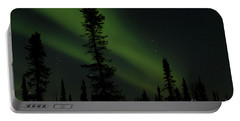 Aurora Borealis The Northern Lights Interior Alaska Portable Battery Charger