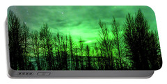 Portable Battery Charger featuring the photograph Aurora In The Clouds by Bryan Carter