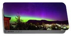 Aurora Over Mt Wellington, Hobart Portable Battery Charger