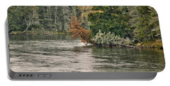 Ausable River 9899 Portable Battery Charger by Michael Peychich