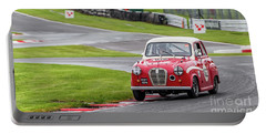 Portable Battery Charger featuring the photograph Austin A35  by Adrian Evans