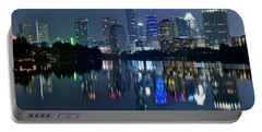 Austin Night Reflection Portable Battery Charger