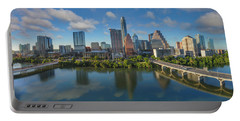 Austin Skyline Panorama Spring Afternoon 7-1 Portable Battery Charger
