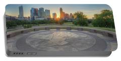 Austin, Texas, May Skyline Sunrise 1 Portable Battery Charger