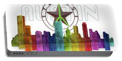 Austin Texas Skyline Portable Battery Charger