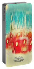 Portable Battery Charger featuring the photograph Austin Traffic by Barbara Tristan