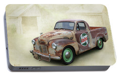 Portable Battery Charger featuring the photograph Austin Ute by Keith Hawley