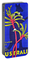 Australia, Kangaroo Paws Portable Battery Charger