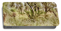 Portable Battery Charger featuring the photograph Australian Bush by Cassandra Buckley
