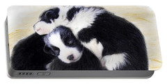 Australian Cattle Dog Puppies Portable Battery Charger