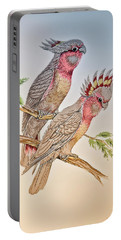 Portable Battery Charger featuring the photograph Australian Cockatoo 011 by Kevin Chippindall