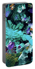 Australian Emerald Begonias Portable Battery Charger