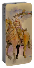 Australian Light Horse Regiment. Portable Battery Charger by Ray Agius