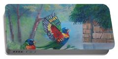 Australian Rainbow Parrots Portable Battery Charger