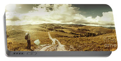 Australian Rural Panoramic Landscape Portable Battery Charger