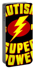 Autism Is My Superpower Portable Battery Charger