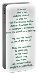 Autism Torture Portable Battery Charger