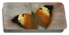 Autumn Leaf Butterfly Zoom Portable Battery Charger