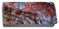 Autum Trees Illustrated Portable Battery Charger