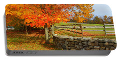 Autumn Afternoon Portable Battery Charger