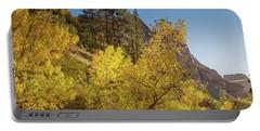 Autumn Along Kolob Creek Portable Battery Charger