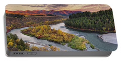 Autumn Along The Snake River Portable Battery Charger