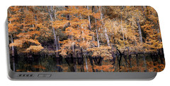Autumn Along The Waccamaw Portable Battery Charger
