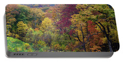Autumn Arrives In Brown County - D010020 Portable Battery Charger by Daniel Dempster