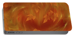 Autumn Art - Autumn Rhapsody By Rgiada Portable Battery Charger