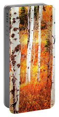 Autumn Aspens Portable Battery Charger