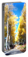 Autumn Aspens Portable Battery Charger