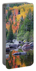 Autumn At Bear Lake Portable Battery Charger by David Chandler