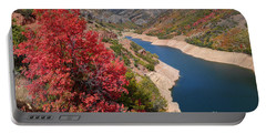 Autumn At Causey Reservoir - Utah Portable Battery Charger