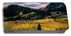 Autumn At Guardsman Pass Portable Battery Charger