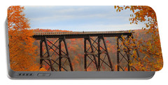 Autumn At Kinzua Bridge Portable Battery Charger