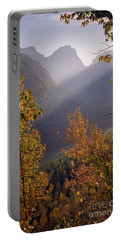 Autumn At Logan Pass Portable Battery Charger
