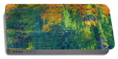 Portable Battery Charger featuring the photograph Autumn At Mccarston's Lake by Gary Hall