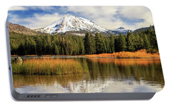Portable Battery Charger featuring the photograph Autumn At Mount Lassen by James Eddy