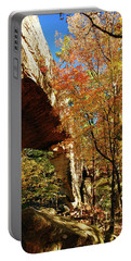 Autumn At Natural Bridge State Resort Portable Battery Charger