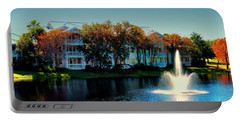 Autumn At Old Key West Resort Panorama Walt Disney World Mp Portable Battery Charger