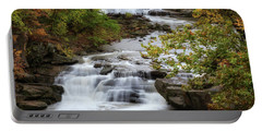 Portable Battery Charger featuring the photograph Autumn At The Falls by Dale Kincaid