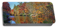 Autumn At The Lake 2 Portable Battery Charger