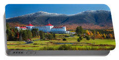 Autumn At The Mount Washington Crop Portable Battery Charger