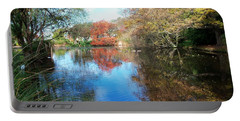 Autumn At The Park Portable Battery Charger