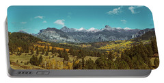 Autumn At The Weminuche Bells Portable Battery Charger