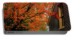 Autumn At The Window Portable Battery Charger