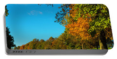 Autumn At World's End Portable Battery Charger
