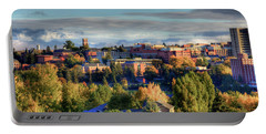 Autumn At Wsu Portable Battery Charger by David Patterson
